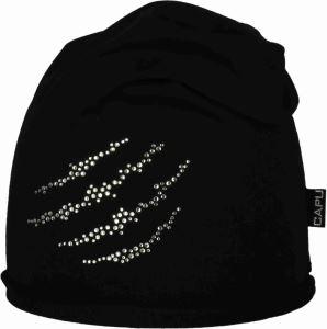 Dámska čiapka CAPU 217 čierna