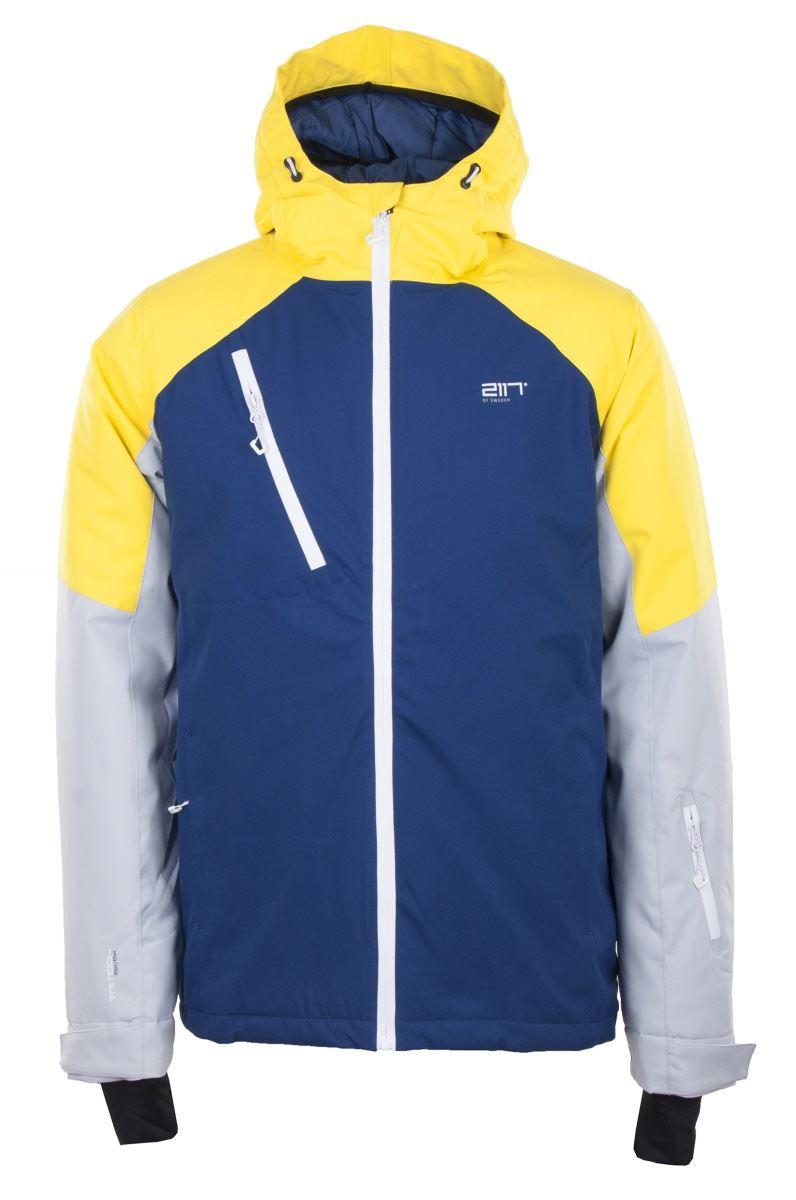 60cdae400971 Pánska lyžiarska bunda 2117 GRYTNÄS tmavo modrá XL