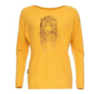 Dámske tričko BUSHMAN TOTOWA žltá