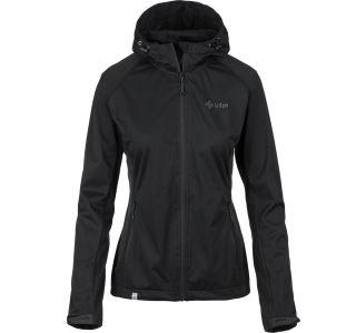Dámska softshellová bunda Kilpi ENYS-W čierna (nadmerná veľkosť)