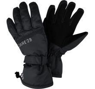 Zimné lyžiarske rukavice Dare2b WORTHY čierna
