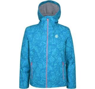 Detská softshellová bunda Dare2b GIFTED modrá