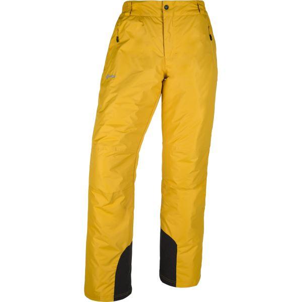 Pánske lyžiarske nohavice KILPI GABONE-M žltá