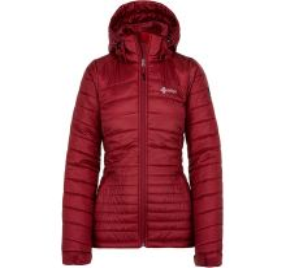 Dámska zimná prešívaná bunda Kilpi GIRONA-W červená