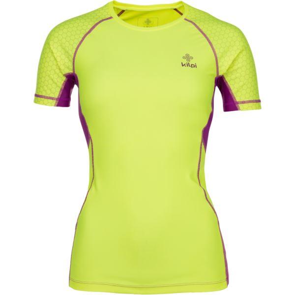 Dámske funkčné tričko Kilpi COMBO-W žltá