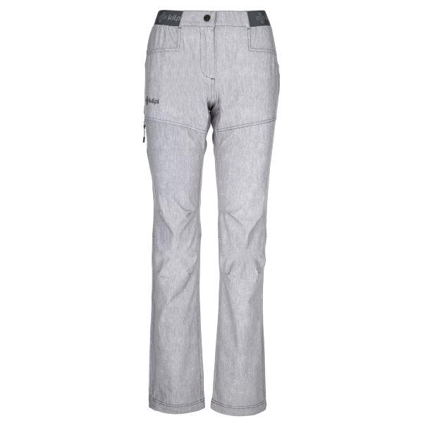 Dámske ľahké outdoorové nohavice Kilpi MIMICRI-W svetlo šedá