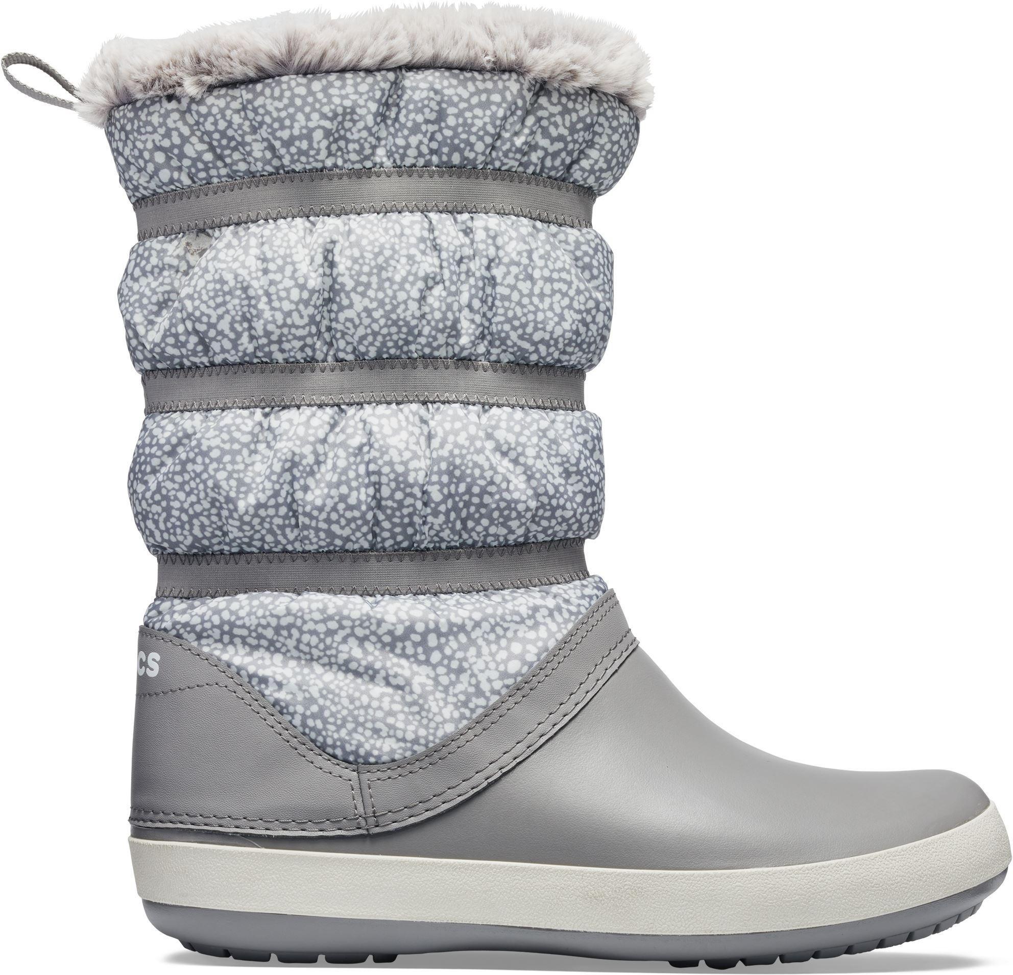 e63f7fabe6 Dámske topánky Crocs Crocband WINTER Boot šedá