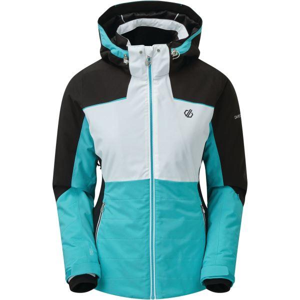 Dámska zimná bunda Dare2b flourish modrá / biela