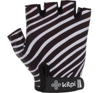 Dámske cyklistické rukavice Kilpi SAVAGE-W čierna