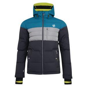 Pánska zimná lyžiarska bunda Dare2b CONNATE sivá / modrá