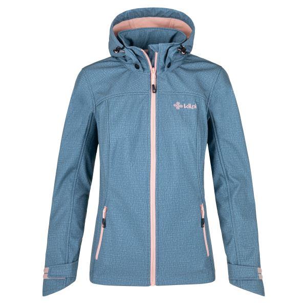 Dámska softshellová bunda Kilpi RAVIA-W modrá