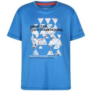 Detské funkčné tričko Regatta ALVARADO III modrá